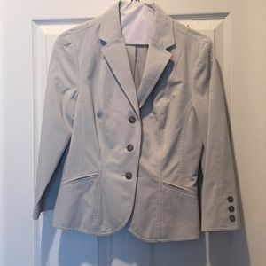 The Limited 2 Piece Light Grey Suit